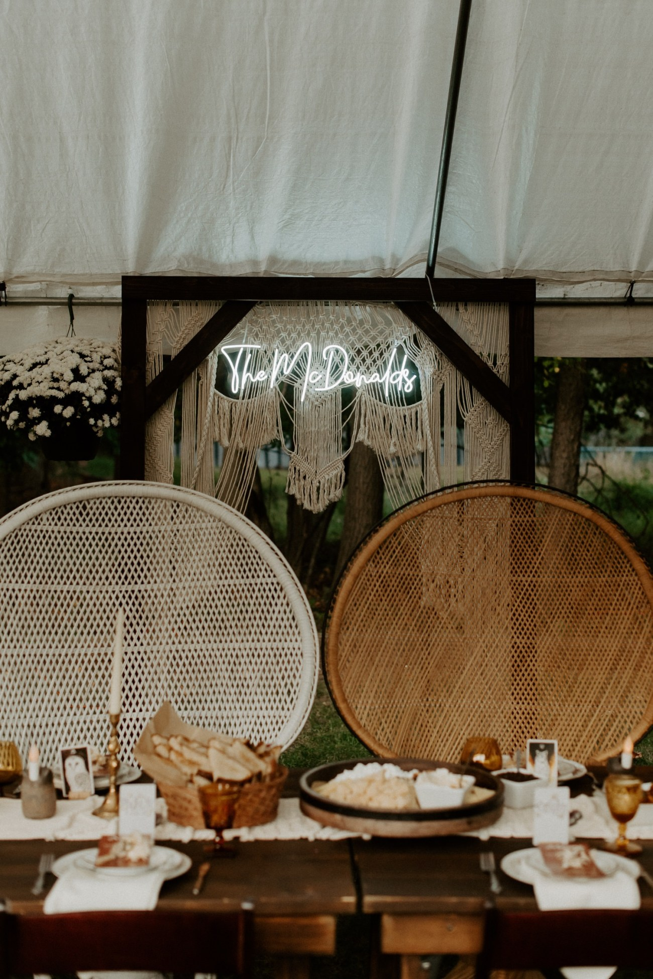 Vintage Boho Diy Backyard Wedding In New Jersey Anais Possamai Photography 101