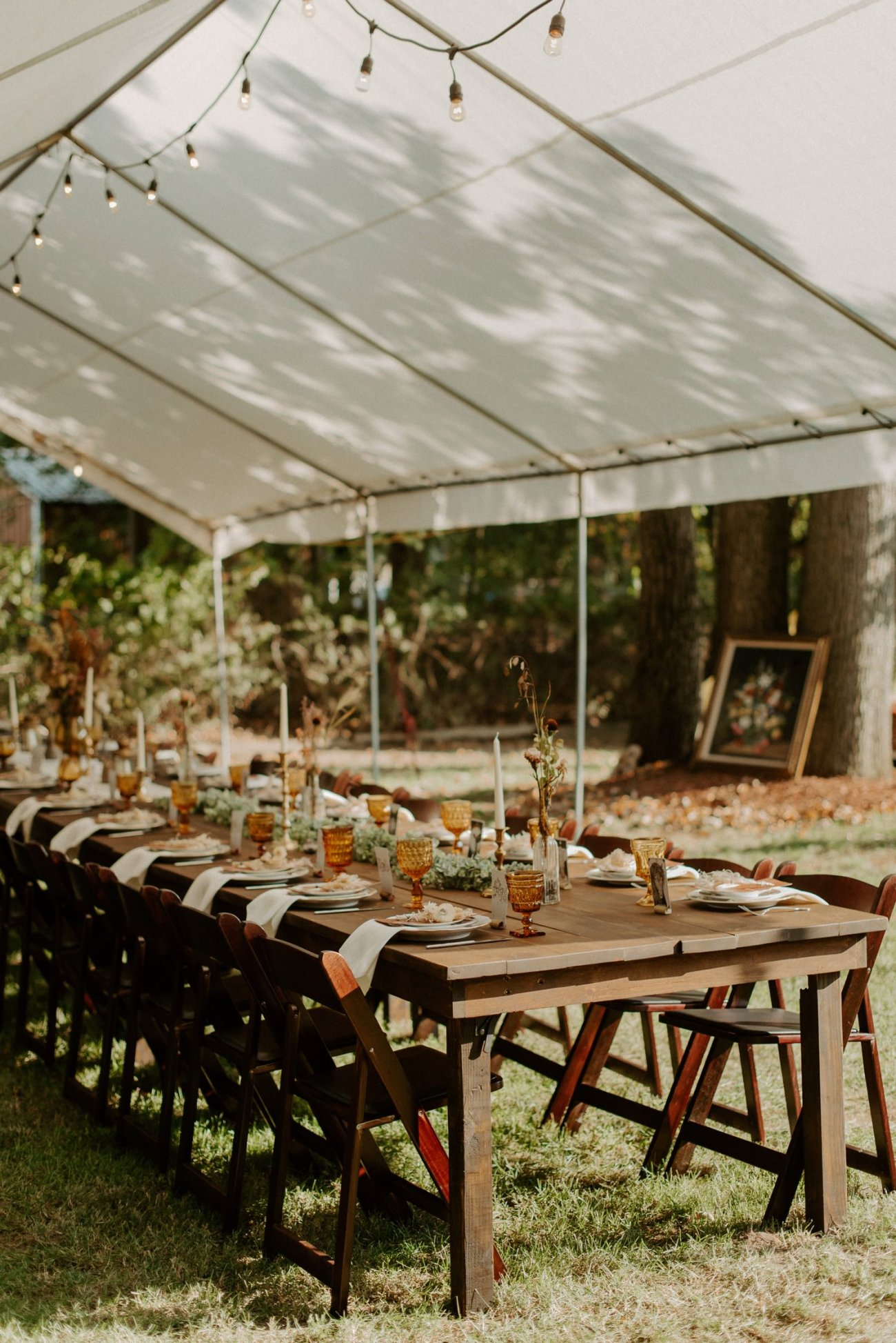 Vintage Boho Diy Backyard Wedding In New Jersey Anais Possamai Photography 103