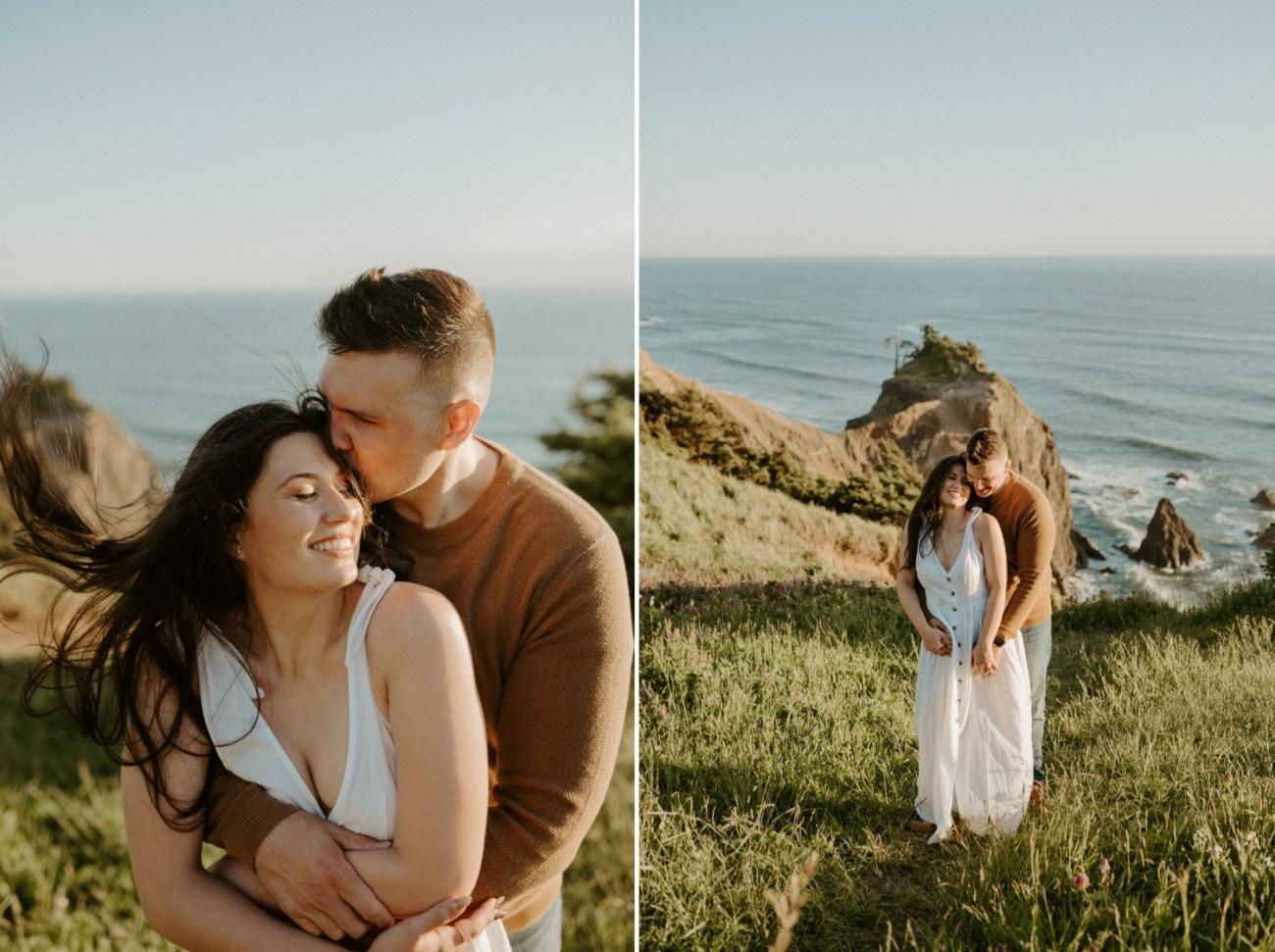 Oregon Coast Gods Thumb Engagement Session Bend Oregon Wedding Photographer Anais Possamai Photography 11