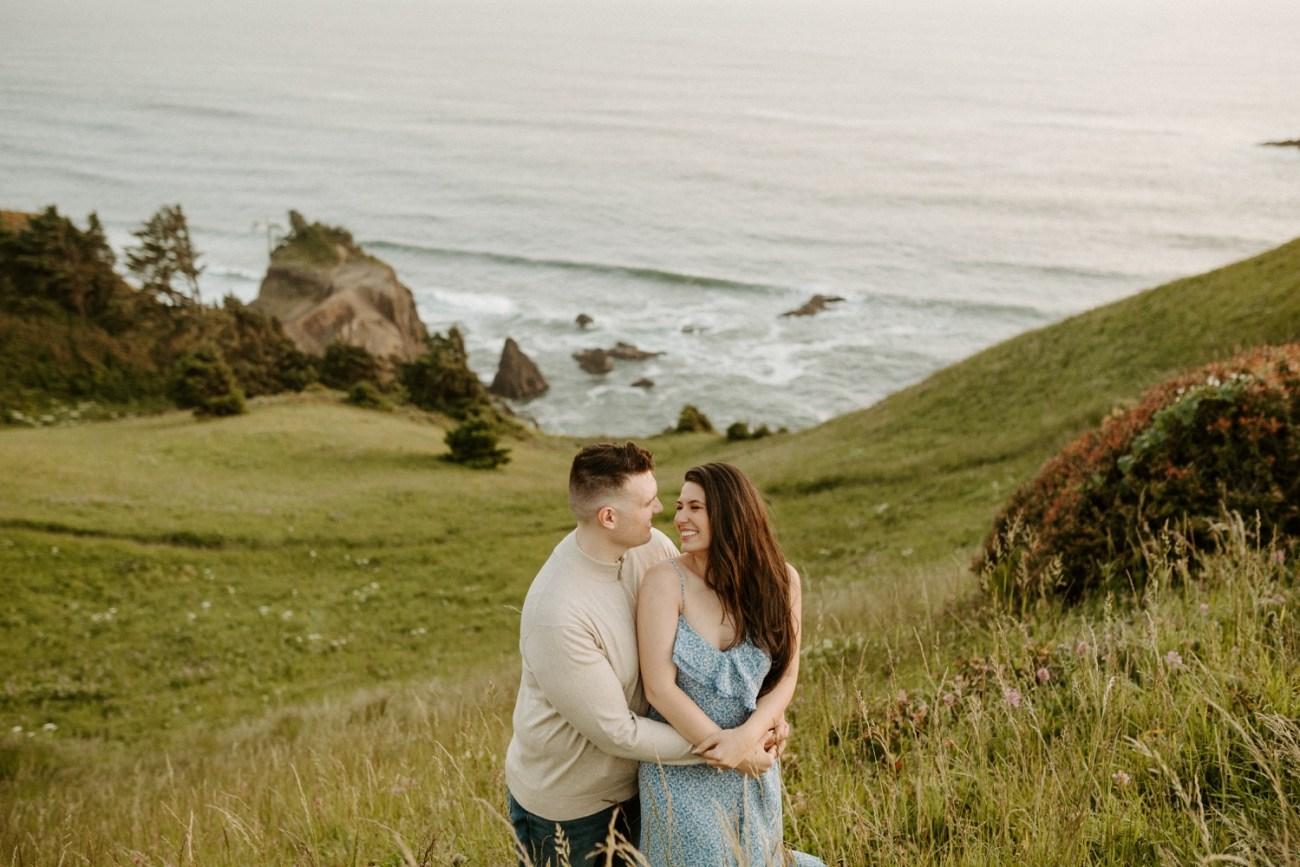 Oregon Coast Gods Thumb Engagement Session Bend Oregon Wedding Photographer Anais Possamai Photography 45