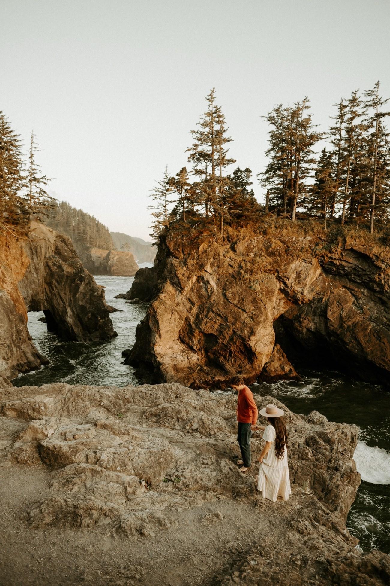 Oregon Coast Samuel H Boardman Engagement Session Anais Possamai Photography 17
