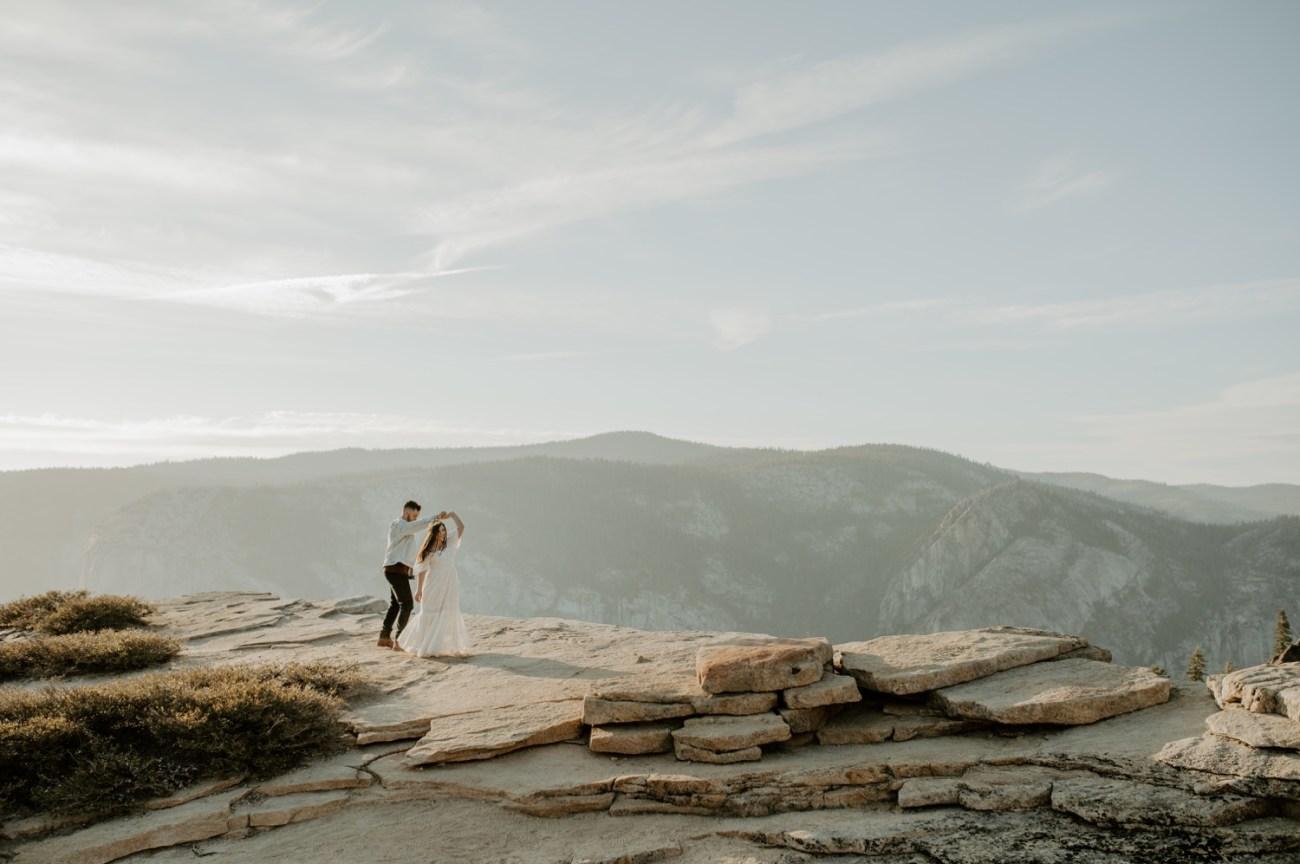 Yosemite Taft Point Engagement Session California Wedding Photographer Anais Possamai Photography 13
