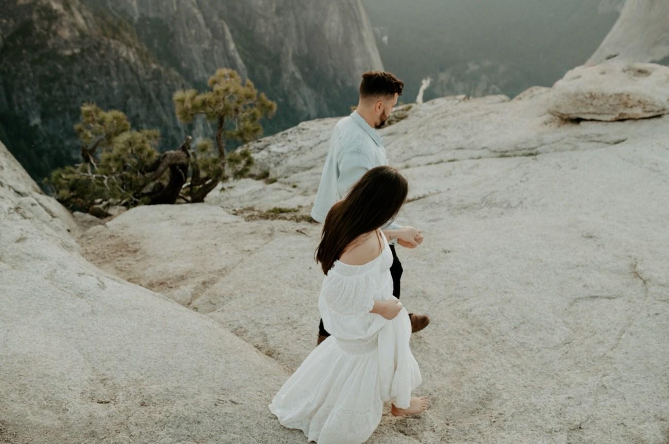 Yosemite Taft Point Engagement Session California Wedding Photographer Anais Possamai Photography 31