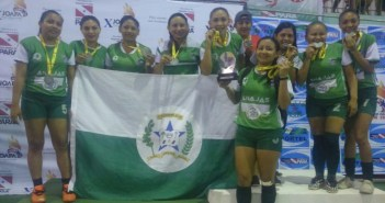 Seleção Feminina de Futsal de Anajás é Vice Campeã dos Jogos Abertos na cidade de Portel