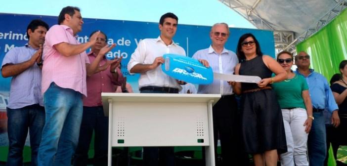 Prefeitura de Anajás recebe lancha do Ministério da Integração Nacional