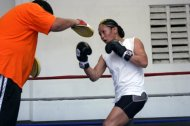 Light workout at Yucatan Boxing