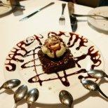 Celebration dessert in Merida