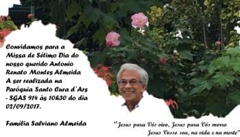Missa Em Homenagem A Antonio Renato Almeida Anajus
