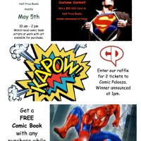 Comic Palooza and Half Price Books Event!