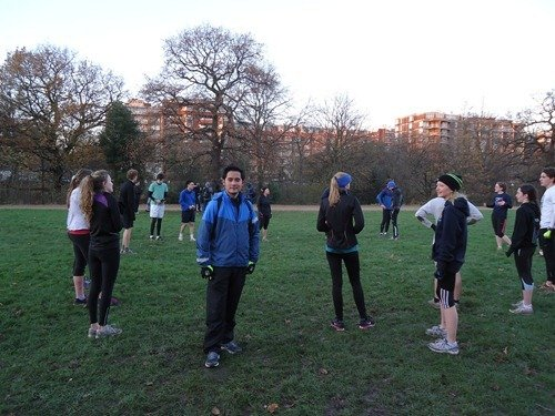 Meet the KCL & UCL running club