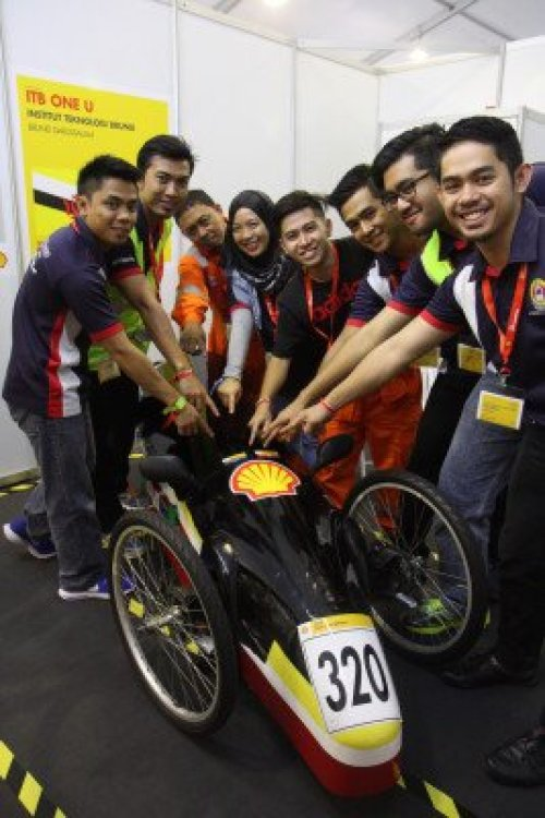 Team UTB after passing the technical inspection
