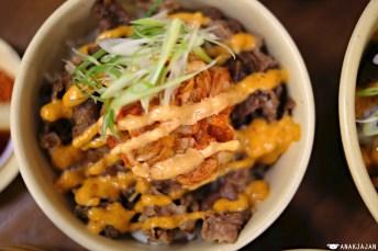 Kimchi Gyudon IDR 57,273 (Regular) / 53,636 (Mini)