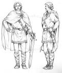 Cyriathe, character design (Arminius)