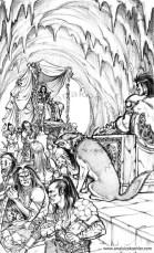 Book illustration for Midgard-Online Editions (KS06)