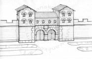 Römermuseum Osterburken - Roman fort gate (18)