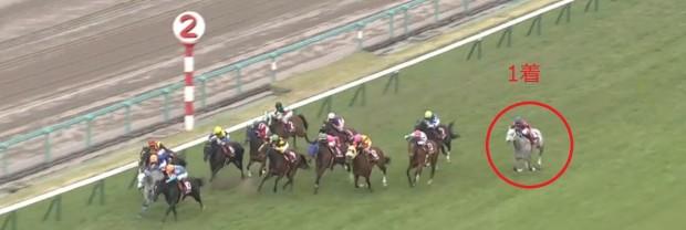 阪神牝馬S2014直線
