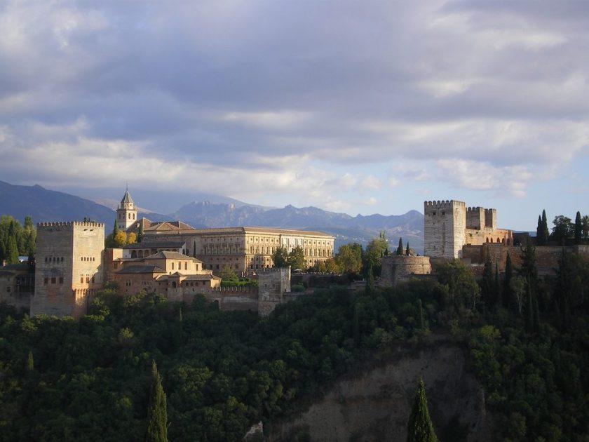 Al Hambra in Granada - Spain