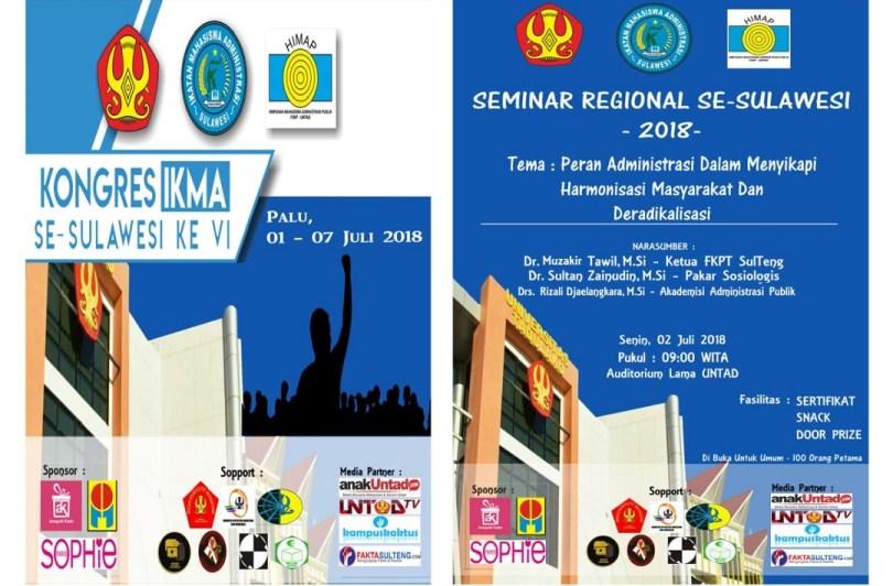 Seminar dan Kongres IKMA Se-Sulawesi 2018