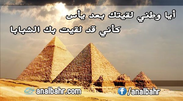 شعر عن حب الوطن لأحمد شوقي ارتباط مقدس وعاطفة وطنية صادقة