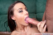 Chanel Preston boinking in the bed with her breasts in Neighbor Affair