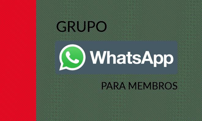 Grupo WhatsApp para membro Análise de Requisitos e Engenharia de Software