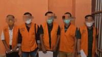 Lima Pejabat PUPR Simeulue Berstatus Tersangka Korupsi Proyek Jalan Ditahan