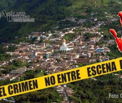 Doble homicidio en Ituango luego de que el Ejército abandonara el municipio