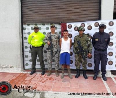 Presunto asesino de gobernador indígena fue capturado por el Ejército