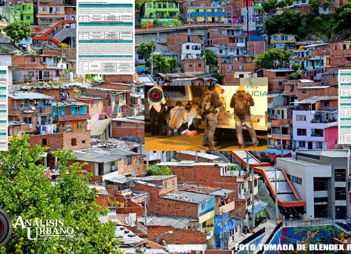 El paseo de los muertos de la comuna 13 en Medellín