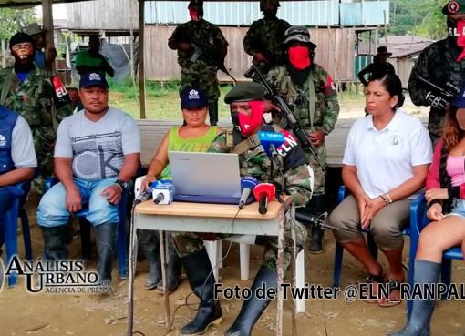 Eln entregó a joven Maryerli a diferentes autoridades en el Chocó