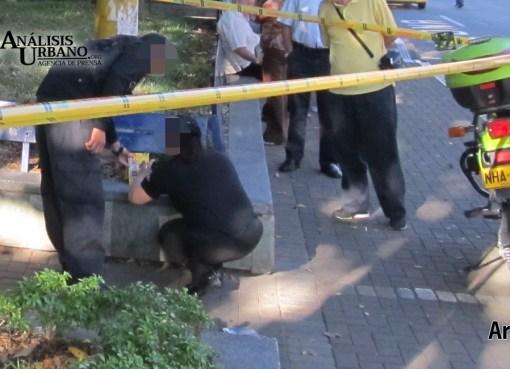 A balazos fue asesinado Luis Felipe en el barrio La Colina, comuna 15 de Medellín
