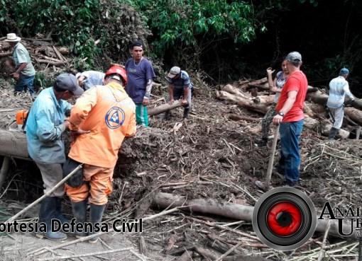 Hallan tercer cadáver tras avalancha por creciente en río de Ciudad Bolívar, Antioquia