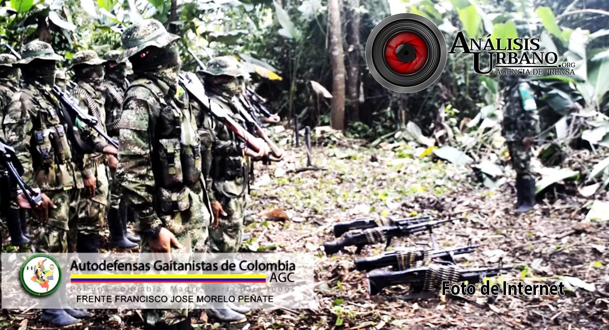 Ejército advierte a funcionarios del CTI que las AGC o Clan del Golfo pusieron precio a sus cabezas