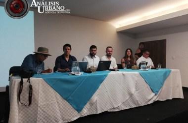 Foto: presentación del informe «Ni descuidos, ni manzanas podridas: ejecuciones extrajudiciales en Antioquia, una política de Estado».