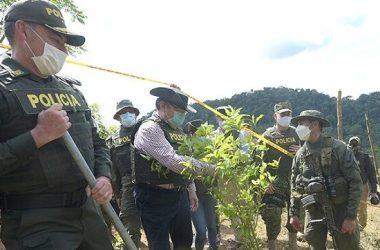 """Finalmente, fue enfático en afirmar que """"el enemigo de Colombia es el narcotráfico, no un herbicida."""