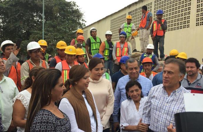 Destaca diputada Mariana Dunyaska millonaria inversión para el Distrito 17
