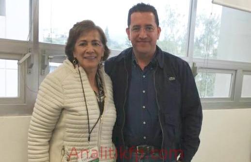 La alcaldesa Ofelia Jarillo Gasca en CONAGUA gestiona red de drenaje y alcantarillado
