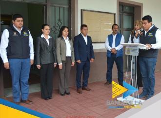 Acto cívico y direcciones municipales en Banderilla