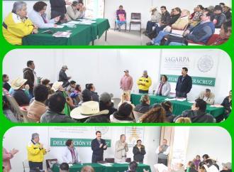 Reunión de productores en SAGARPA