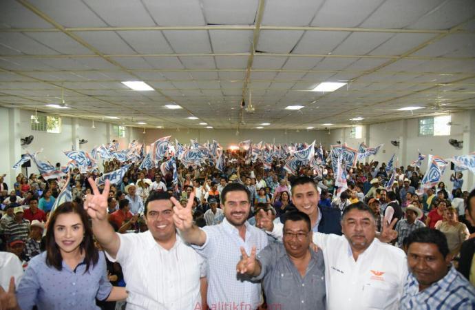 En Tuxpan Miguel Ángel Yunes Márquez