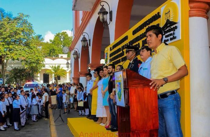 Acto Conmemorativo en Santigo Tuxtla