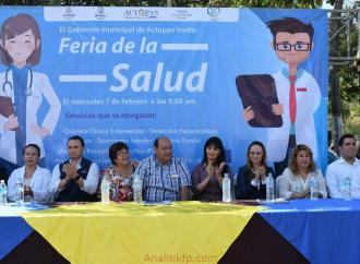 Feria de la Salud en Actopan