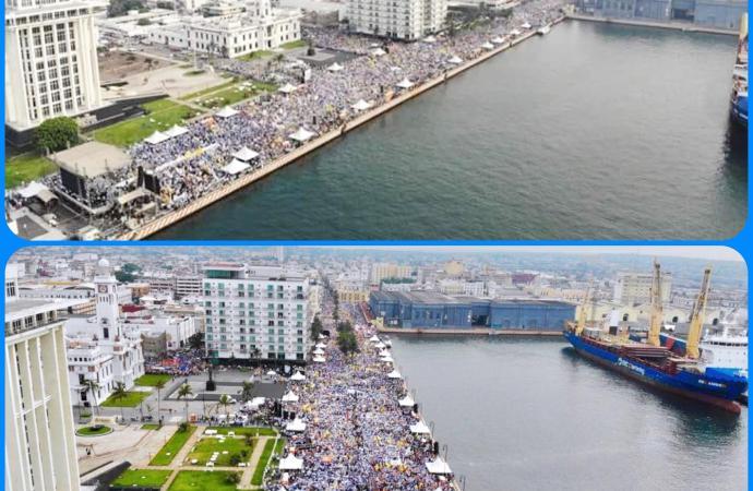 Logra Miguel Ángel Yunes Márquez el cierre más grande de la historia del estado; reúne más de 80 mil personas en la Macroplaza de Veracruz