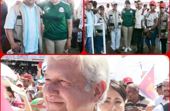 """""""A pesar de la intimidación a transportistas, acompañamos a Cuitláhuac y AMLO"""": Carmen Mora."""