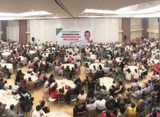 Veracruz necesita un gobernador que garantice que el dinero para la salud no se va a desviar: Pepe