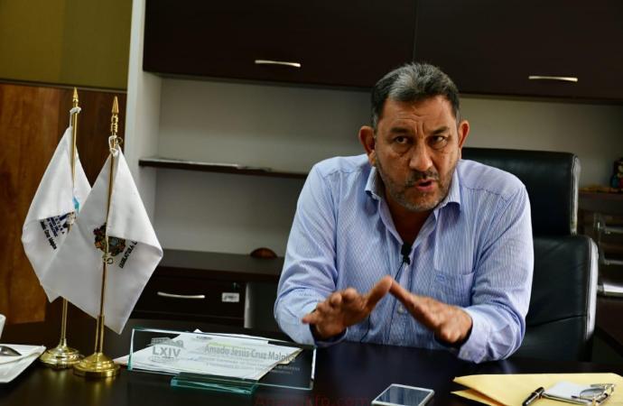 """""""Que se investigue a fondo atentado contra Manuel Huerta"""": Amado Cruz"""