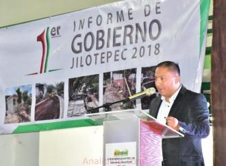 Sergio Fernández Lara, rindió su Primer Informe de Gobierno en