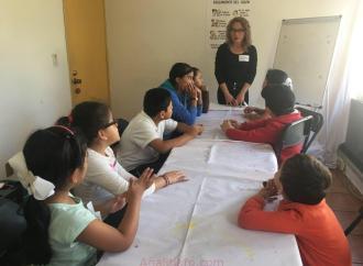 Con taller a menores, SEV fomenta la cultura de prevención