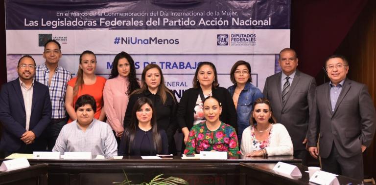 Legisladores realizan mesas de trabajo para crear Ley General contra Feminicidios