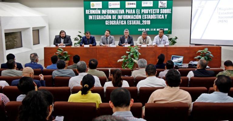 Presentan SEFIPLAN e INEGI lineamientos del Registro Estadístico Nacional